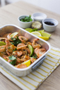 Shrimps in baking dish - GIOF03980
