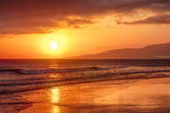 Spain, Andalucia, Tarifa, sunset - SMAF01070