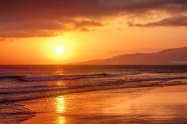 Spain, Andalucia, Tarifa, sunset - SMAF01070