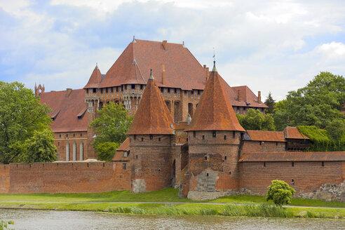 Poland, Pomerania, Gdansk, Malbork Castle - KLRF00643