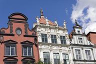 Germany, Pomerania, Gdansk, house facades - KLRF00646