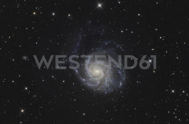 Astrophotography, Spiral galaxy Messier 101 or Pinwheel Galaxy - THGF00066