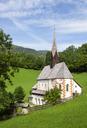 Austria, Carinthia, Bad Kleinkirchheim, Church St. Katharina im Bade - WWF04247