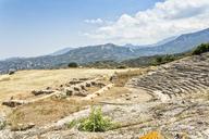 Greece, Peloponnese, Egira, Amphitheatre of Aigeira - MAMF00162