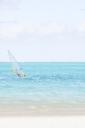 Mauritius, Grand Port District, Pointe d'Esny, sail boarder - MMA00427