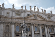 Italy, Vatican City, St. Peter's Basilica, St. Peter's Square - BZF00433