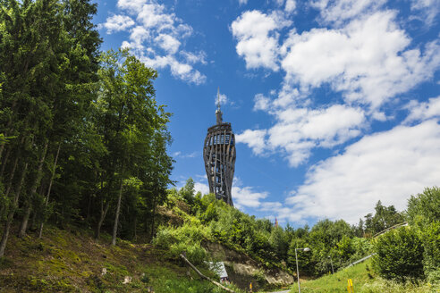 Austria, Carinthia, Observation tower Pyramidenkogel - AI00534