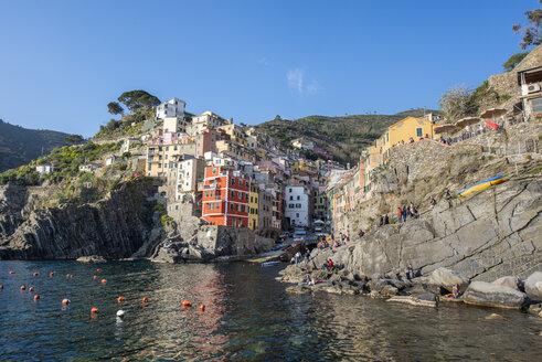 Italy, Liguria, La Spezia, Cinque Terre National Park, Riomaggiore - RPSF00220