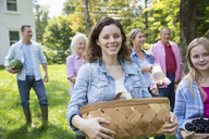 A family summer gathering at a farm. A shared meal, a homecoming. - MINF04943