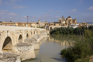 Spain, Andalusia, Cordoba, Old town, Mosque–Cathedral of Cordoba, Puente Romano, Roman bridge - WIF03543