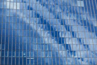 Germany, Frankfurt, part of facade of European Central Bank - TC05557