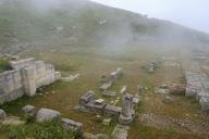 Albania, Fier County, ancient city Byllis, amphitheatre - SIEF07858