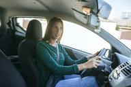 Woman driving a car - KIJF01988