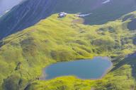 Germany, Bavaria, Allgaeu, Allgaeu Alps, Lake Rappensee, Rappensee hut - WGF01209