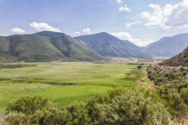 Greece, Peloponnese, Corinthia, Stymfalia, Ancient plateau, Lake Stymphalia - MAMF00175