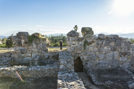 Greece, Peloponnese, Argolis, Tiryns, archaeological site, Tourist - MAMF00202