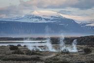 Iceland, Vestfiroir, Reykholar, geothermal area - KEBF00861