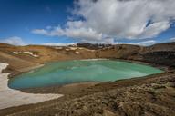 Iceland, Myvatn, Krafla, crater with lake - KEBF00876