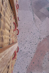 Morocco, view from air balloon at desert and farmland - MMAF00501