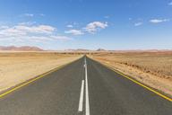 Africa, Namibia, Namib desert, Naukluft National Park, empty road to Sossusvlei - FOF10068