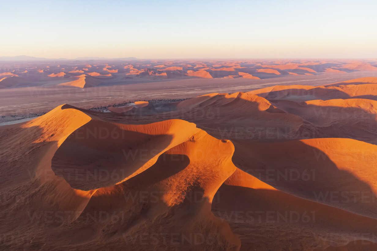 Africa, Namibia, Namib desert, Namib-Naukluft National Park, Aerial view of desert dunes - FOF10116 - Fotofeeling/Westend61