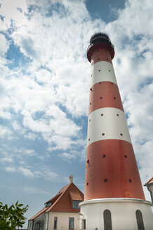 Germany, Schleswig-Holstein, Westerhever, Westerheversand Lighthouse - UMF00859