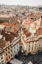 Czechia, Prague, cityscape seen from the old town hall - GEMF02296