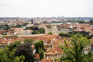Czechia, Prague, view to the city from Hradcany - GEMF02320
