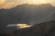 Austria, Salzburg State, Loferer Steinberge, mountainscape at twilight - HAMF00358
