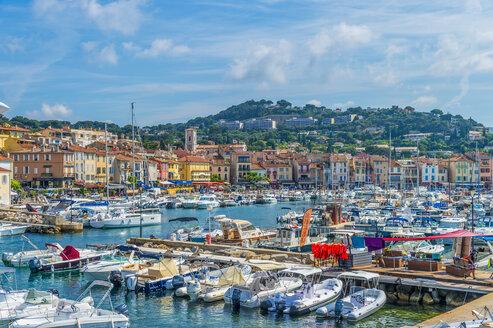 France, Provence-Alpes-Cote d'Azur, Bouches-du-Rhone, Cassis, Harbour - FRF00711