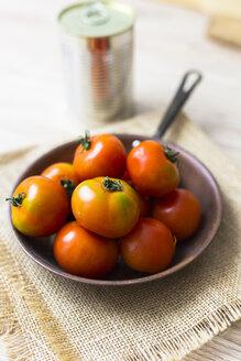 Fresh tomatoes in pan - GIOF04248