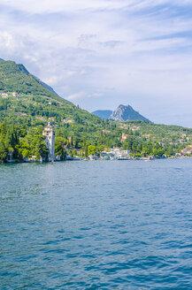 Italy, Lombardy, Gardone Riviera, Lake Garda, Torre di San Marco - MHF00457