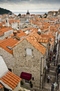 The red roofs of Dubrovnik, Croatia. - AURF01784