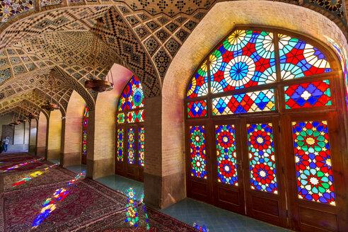 Iran, Fars Province, Shiraz, Nasir-ol-molk Mosque - FP00200