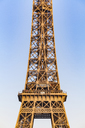 France, Paris, Eiffel Tower, midsection - WDF04802