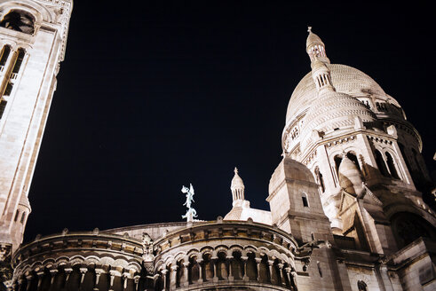 France, Paris, Montmartre, Sacre Coeur by night - DASF00077