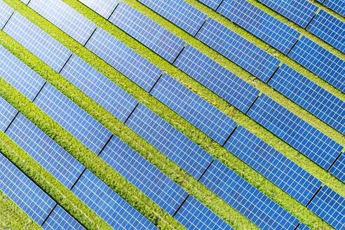 Aerial view of photovoltaic plant - MAEF12718