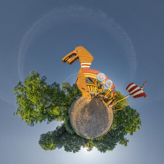 Little Planet view of playground - STSF01733