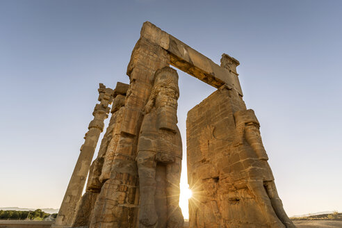 Iran, Shiraz Province, Persepolis, Gate of all Nations - FPF00211