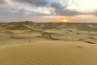 Iran, Isfahan Province, Varzaneh, Varzaneh Desert, Varzaneh sand dunes at sunset - FPF00214