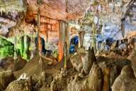 Iran, Zanjan Province, Garmab, Katale Khor, Flowstone cave - FPF00217