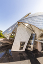 France, Paris, Bois de Boulogne, Fondation Louis Vuitton, Art Museum, Architect Frank Gehry - WD04819