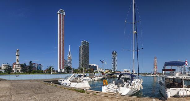 Georgia, Adjara, Batumi, Miracle Park behind the marina - WW04357