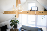Interior of an attic apartment - JOSF02636