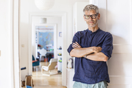 Portrait of mature man at home - TCF05808