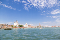 Italy, Venice, cityscape seen from the lagoon - JUNF01209