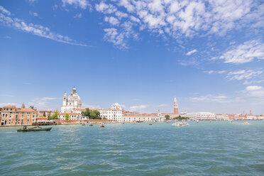 Italy, Venice, cityscape seen from the lagoon - JUNF01209