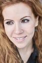 Portrait of redheaded Mid adult woman - IGGF00564