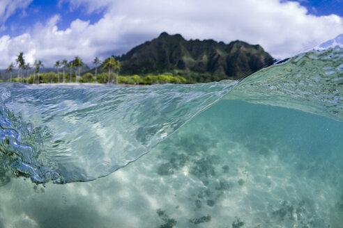 A Split Level Water View Of Kualoa Ridge On Oahu's East Side - AURF03714