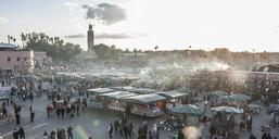 Djemaa El Fna Square, Marrakesh, Morocco - AURF04000